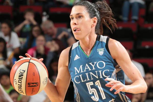 Anna Cruz, campeona de la WNBA con las Minnesota Lynx