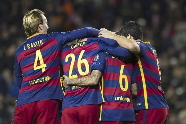 El Barça continúa con la fiesta