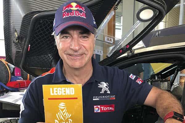 Carlos Sainz, campeón del rally Dakar 2018
