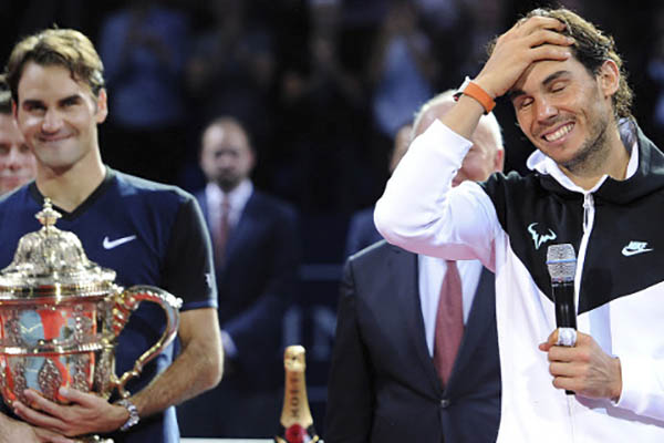 Federer gana a Nadal en Basilea