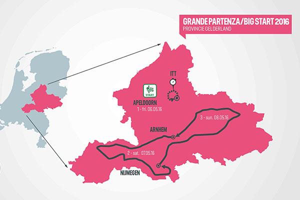 Giro de Italia 2016, cimas de 2700 metros y tres cronos