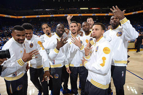 Golden State Warriors, 12 victorias, 0 derrotas