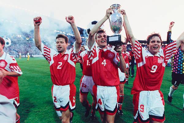 Historia de Dinamarca en la Eurocopa