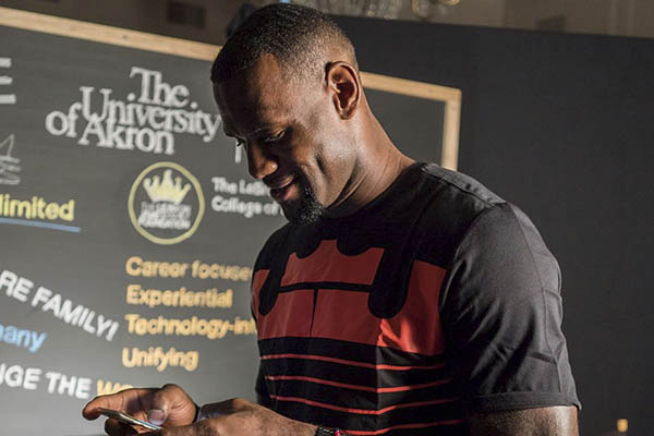 LeBron James, contrato vitalicio con Nike