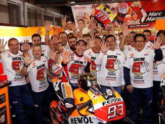 Marc Márquez, campeón del mundo de Moto GP 2016