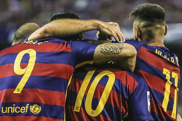 Messi, Neymar, Suárez, ¿el mejor tridente atacante de la historia?