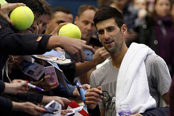Novak Djokovic, maestro del tenis 2015