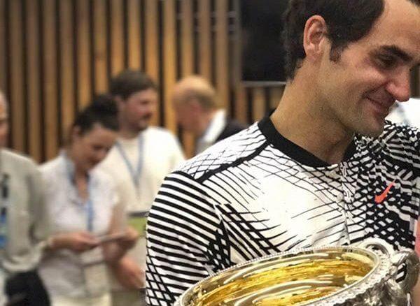 Roger Federer, campeón del Open de Australia 2017